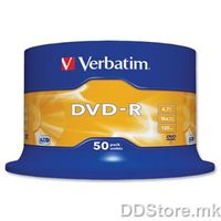 Verbatim DVD-R 16x 50pcs pack