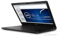 "DELL Latitude 3560, 15.6"" HD, i3-5005U, 4GB, 500GB, Cam + Mic, 4 cell, WiFi 1802, BT, Ubuntu, 3Yrs"