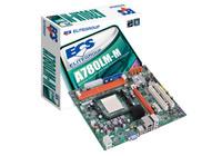 MB ECS A780LM-M, Socket: AMD® AM3, Chipset: AMD® 760G, DDR3, 1333MHz