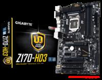 GIGABYTE MB GA-Z170-HD3 (v1.0), Socket Intel® 1151, Chipset: Intel® Z170, DDR4, 2666/2400/2133 MHz