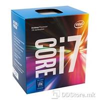 Intel Core i7 7700, Socket 1151, Radni takt  4200 MHz, L3 cache 8, Jezgra Kaby Lake, Broj jezgri 4, Tehnologija proizvodnje 14 nm, TDP 65 W, Hladnjak da, Integrirani grafički sustav da, Grafički procesor Intel® HD Graphics 630;  1.15 GHz, Memory