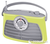 Portable Radio AM/FM Trevi Vintage RA 763V Green