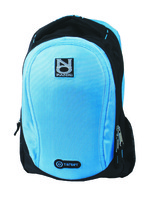 Notebook Backpack Target No Panic, blue