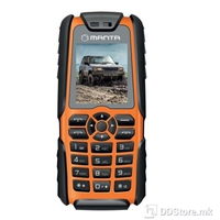 Mobile Phone Manta TEL1703 Rugged w/Power Bank Dual Sim Shock/Water/Dust Proof