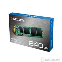 ADATA SSD ADATA 240GB  SP550 M.2 2280 , TLC , Dimenzije : 22 x 80 x 3.5mm ,  Brzina čitanja 560MB/s , Brzina pisanja 510MB/s