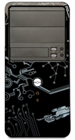 Maze Minitower Case, W/out PS, 2x USB 2.0 + Audio + Mic, Kensington Lock, High Glossy Black Color