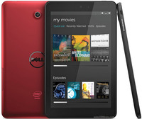 "Dell Venue 8 8"" (1920x1080) Atom Z3480 dual 2,10GHz, Memory 16GB, Ram 1GB, GPS, Wi-Fi, Bluetooth, 2 x Webcams, Android 4.4, red"