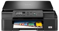 Brother MFCJ200 Advantage InkJet Printer MFP