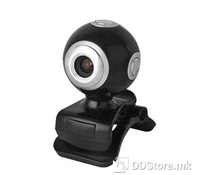 15.08.9390-5 Value Webcam With integrated microphone, 8 MPix, Image resolution: 300K up to 8.0 Mpix, Video capture: 640, Sensor: CMOS image sensor, Lens: 5-element glass lens, Digital zoom: 10x, Video resolution: 1600x1200 dpi, driverless