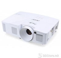 ACER X115H, DLP 3D, SVGA, 3300 lm, 20000/1, HDMI, Speakers, 2.5kg, Euro Power EMEA