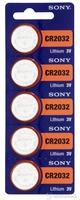 Batteries Sony CR2032BEA 3V 1pack Lithium