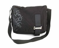 "Case Logic 15.4"" Canvas Tatoo Messenger Bag Black"
