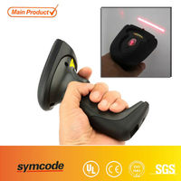 Barcode Scanner Symcode MJ-8900 Wireless Black