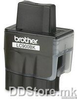 Brother Cartrige LC900BKYJ1 Black (500 str.) for FAX-1835C/1840C/1940CN/2440C, MFC-3240C/3340CN/5440CN/5840CN, DCP-110C/115C/120C/310CN/315CN/340CW, MFC-210C/215C/410CN/425CN/620CN/640CW/820CW