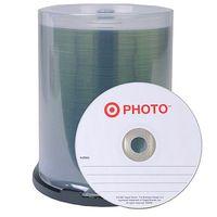 CD-R 700MB 52x Target 100pcs Wrap