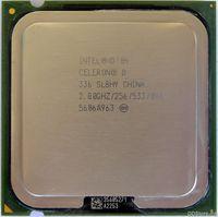 Intel® Celeron® D Processor 336 (256K Cache, 2.80 GHz, 533 MHz FSB)  Tray
