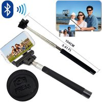 Selfie Stick for Smartphones Monopod Z07-5 w/Bluetooth Black