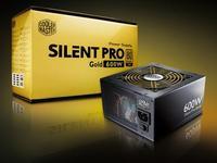 CoolerMaster Silent Pro Gold 600W Modular/EU Cable RS600-80GAD3-EU