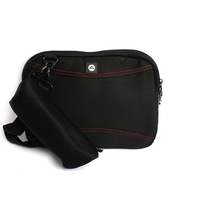 "Tablet Sleeve/Bag Platinet 8"" Black/Red"