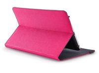 "CASE LOGIC 7-8"" TABLET SUREFIT™ FOLIO FOR TABLET (13.7 X 0.8 X 21.9)CM - PHLOX Customizable booklet style folio adjusts to precisely fit a variety of 7""- 8"" tablets, Coated, spring steel, elasticized clips stretch and lock your tablet securely"