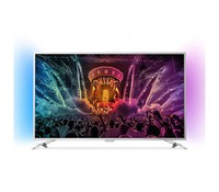 "PHILIPS 49PUS6501 49"" (124cm) SILVER Android™ 5.1 (Lollipop) UltraHD Smart LED TV"