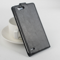 Flip Case for Elephone S2 Leather Black