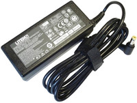 ACER Notebook Adapter 65W, 19V, 3.42A, PIN Size: 5.5 x 1.7 with Notebook Power Cable, 3 pins, black, 1.8m, EU plug