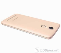 "Homtom HT17 Smartphone Gold, 5.5"" HD IPS (1280x720), 4G LTE, Dual SIM, 3G: WCDMA 900/2100MH, Chipset: MediaTek MT6737, CPU: Quad-Core 1.1GHz ARM Cortex-A53, GPU: ARM Mali-T720 MP1, 550MHz, Single-Core, Internal Memory: 8GB, Card slot: microSD, up to"