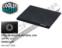 CoolerMaster R9-NBC-I1HK-GP, Cooler for NotePal I100, 140 mm fan, ultra thin, only 23 mm thick