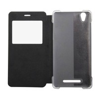 Flip Case w/Window for Blackview A8 Leather Black