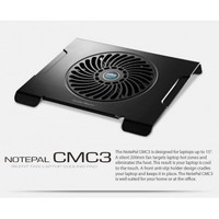 CoolerMaster R9-NBC-CMC3-GP, Cooler for NotePal CMC3, 200 mm fan, lightweight material, USB extension port
