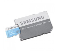 Samsung 32GB microSD Class 6 w/SD Adapter, MB-MS32DA/EU
