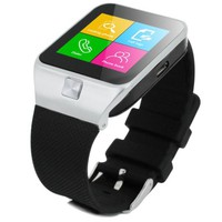 "ST SW-50Y Silver, Superior Technology, Smartwatch with SIM card, Mobile phone function GSM 850/900/1800/1900, 1.54"" LCD Touch Display 240X240 Resolution, Compatible with IOS/Android, 1.3Mpixels camera, FM Radio, MP3 Player, Voice recorder, Internet b"
