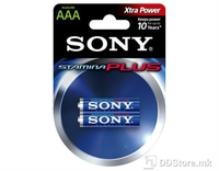 Batteries Sony AM4-B2D 1.5V LR03-AAA 2pack Blister Alkaline