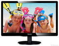"Philips 18,5"" LED 193V5LSB 16:9   1366 x 768, 5ms, black"