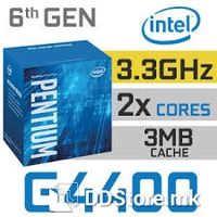 Intel Processor Pentium Dual Core G4400 3.3 Ghz (2cores), 3M Cache, 8 GT/s,14 nm, LGA1151, 65W, Box