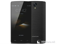 "Smartphone 5.5"" HD HOMTOM HT7 Pro Black 64bit Quad Core 2GB/16GB/4G/2xSIM/5MP+13MP OIS/A5.1"