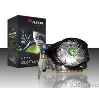 ®AFOX NVIDIA GT440 PCI-E 1GB DDR3 128bit, Chipset GTS440  750MHz Core Clock, Memory clock 1333MHz, HDMI, DVI, VGA, AF440-1024D3L2