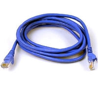 Belkin LAN Snagless FastCat5e Patch cable 0,5m blue A3L850b50CM-BLS