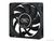 Case Fan 80x80x25 DeepCool XFAN 80 1300rpm Black