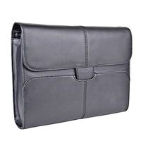 "Netbook & Tablet Slipcase Targus 10.2"" Hughes Leather Black"