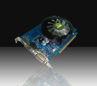 AFOX NVIDIA GT430 PCI-E 1GB DDR3 128bit, Chipset GT430  600MHz Core Clock, Memory clock 1333MHz, DVI, VGA, AF430-1024D3LG2 Green edition