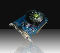 AFOX NVIDIA GT430 PCI-E 1GB DDR3 128bit, Chipset GT430  600MHz Core Clock, Memory clock 1333MHz, DVI, VGA, AF430-1024D3LG2 Green edition