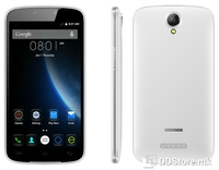 "Smartphone 5.5"" HD DOOGEE X6 Pro White 64bit Quad Core/2GB/16GB/4G/2xSIM/5MP+8MP/A5.1"