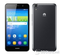"""HUAWEI Y6 Black, Dual SIM, with 4G, 5"""" IPS LCD capacitive Multitouch Screen 720x1280 pixels resolution, CPU Quad-core 1.1 GHz Cortex-A7, 8GB internal memory, 2GB RAM memory, Android OS, v5.1 (Lollipop), Chipset Qualcomm MSM8909 Snapdragon 210, GPU Ad"""
