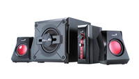 Genius SW-G2.1 1250 speakers + subwoofer, 38W, for game, 4 pieces, 100-240V