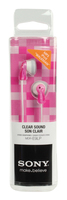 Earphones Sony MDR-E9LPPZ Clear Sound Pink