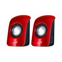 Genius Speaker 2.0, 1.5W RMS, USB, Red, SP-U115