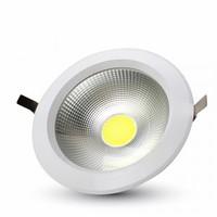 10W LED COB Downlight Reflector White Body - 4500K 730 lm 120° SKU : 1101