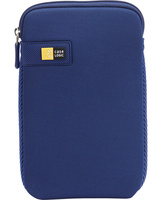 "CASE LOGIC 7"" TABLET SLEEVE (20.3 X 1.3 X 12.7)CM - DARK BLUE - Form-fitting sleeve ensures a precise fit for your tablet with a 7 inch display, A seamless wrap of Impact Foam™ padding provides top to bottom protection, Woven webbing along each sid"